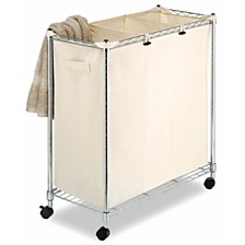Whitmor Supreme Laundry Sorter with Canvas Bag