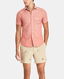 Polo Ralph Lauren Men's Big & Tall Classic Fit Chambray Shirt