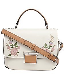 Calvin Klein Dani Floral Leather Crossbody