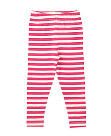 Masala Baby Organic Cotton Baby Girl's Stripe Leggings