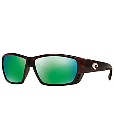 Costa Del Mar Polarized Sunglasses, CDM TUNA ALLEY 62P