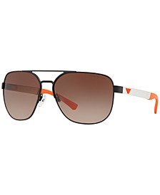 Sunglasses, EA2064 62