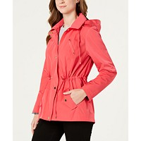 Charter Club Water-Resistant Hooded Anorak Jacket