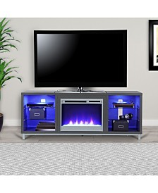 Ameriwood Home Norton 70 Inch Fireplace TV Stand