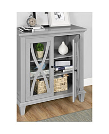 Ameriwood Home Ella Estates Double Door Accent Cabinet