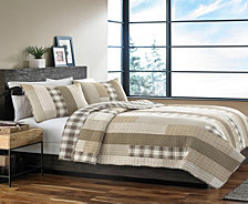 Eddie Bauer Fairview Saddle Full/Queen Quilt Set