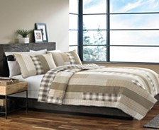 Eddie Bauer Fairview Saddle Twin Quilt Set