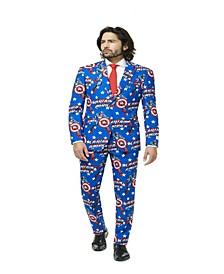 Men's Captain America™ Licensed Suit