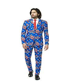 OppoSuits Captain America Men's Suit
