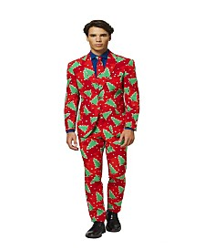 OppoSuits Men's Fine Pine Christmas Suit