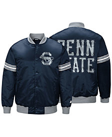 G-III Sports Men's Penn State Nittany Lions Draft Pick Varsity Satin Jacket