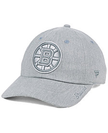 Authentic NHL Headwear Women's Boston Bruins Lux Fundamental Adjustable Cap
