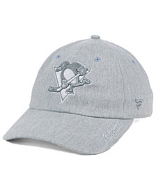 Authentic NHL Headwear Women's Pittsburgh Penguins Lux Fundamental Adjustable Cap