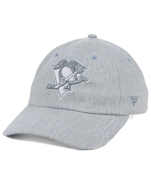 Authentic NHL Headwear Women s Pittsburgh Penguins Lux Fundamental ... ee706a614