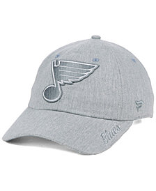 Authentic NHL Headwear Women's St. Louis Blues Lux Fundamental Adjustable Cap