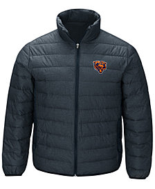 G-III Sports Men's Chicago Bears Playoff Quilted Polyfill Jacket