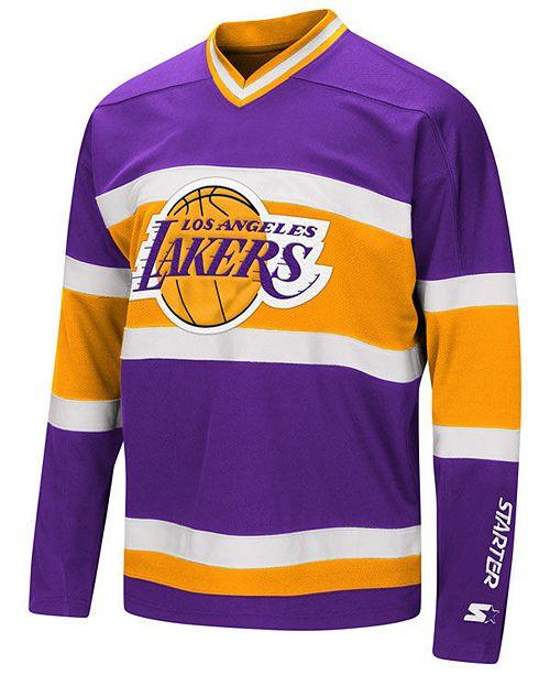 2248df9b2de G-III Sports Men s Los Angeles Lakers MVP Hockey Jersey   Reviews ...