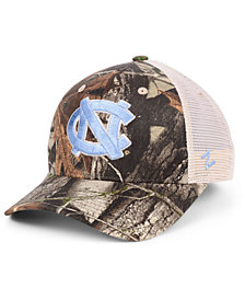 Zephyr North Carolina Tar Heels Recon Camo Trucker Cap