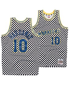 Mitchell & Ness Men's Tim Hardaway Golden State Warriors Checkerboard Swingman Jersey