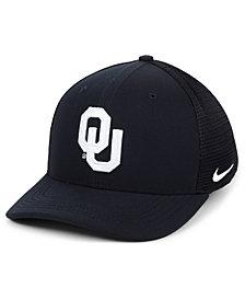 Nike Oklahoma Sooners Aerobill Black Swoosh Cap