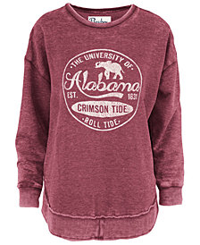 Pressbox Women's Alabama Crimson Tide Vintage Wash Sweatshirt