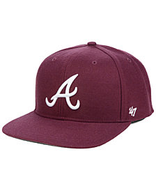 '47 Brand Atlanta Braves Autumn Snapback Cap