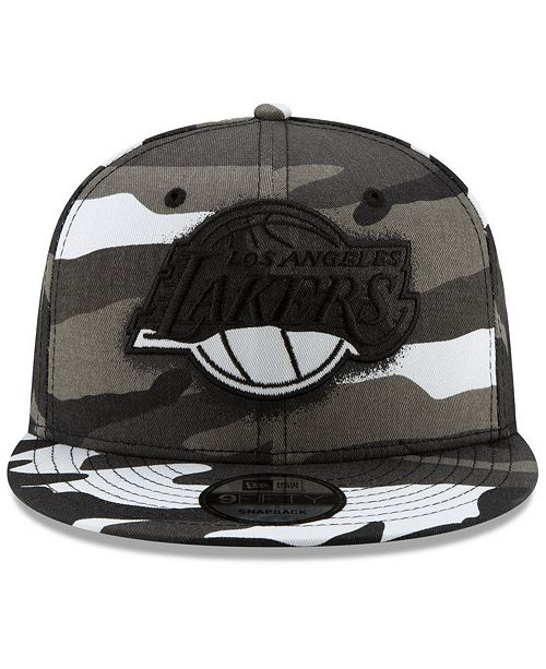 Los Angeles Lakers Overspray 9FIFTY Snapback Cap. Be the first to Write a  Review.  31.99 20a31450e1c9