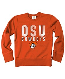 Oklahoma State Cowboys Crew Neck Sweatshirt, Toddler Boys (2T-4T)
