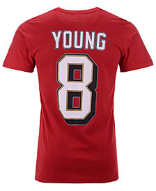 Majestic Men s Steve Young San Francisco 49ers Hall of Fame Eligible  Receiver Triple Peak T- 0297664a7
