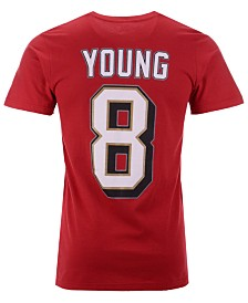 Majestic Men's Steve Young San Francisco 49ers Hall of Fame Eligible Receiver Triple Peak T-Shirt