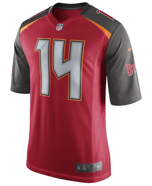 timeless design 5a843 0166e Nike Men's Ryan Fitzpatrick Tampa Bay Buccaneers Game Jersey ...