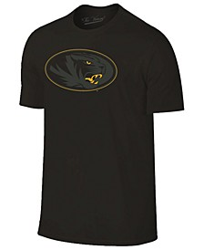 Men's Missouri Tigers Black Out Dual Blend T-Shirt