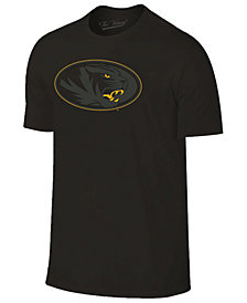 Champion Men's Missouri Tigers Black Out Dual Blend T-Shirt