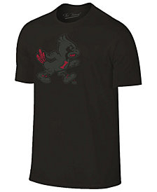 Champion Men's Iowa State Cyclones Black Out Dual Blend T-Shirt