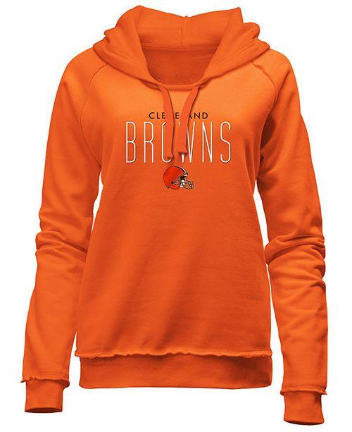 5th & Ocean Women's Cleveland Browns Fleece Pullover Hoodie  supplier