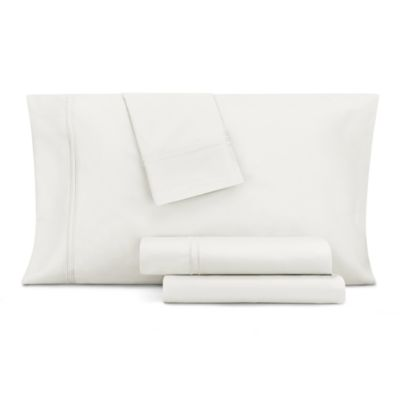 Double Merrow Embellished 4-Pc Queen Sheet Set, 700 Thread Count Cotton Blend