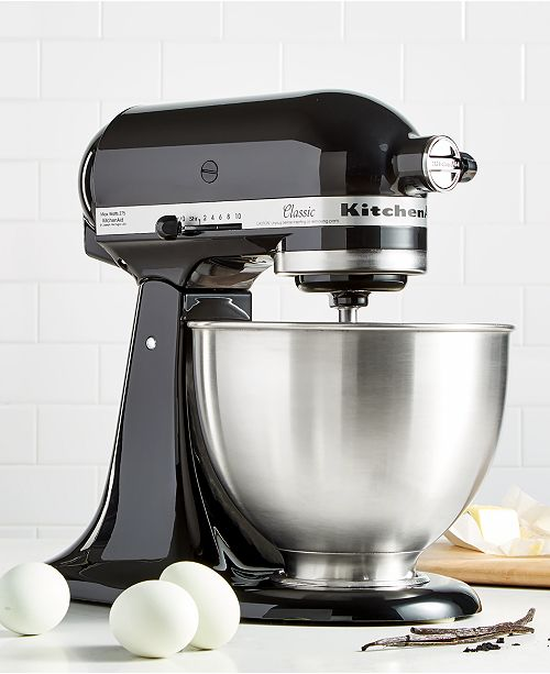 31cc15c97f9 ... KitchenAid K45SSOB Classic Series 4.5-Qt. Tilt-Head Stand Mixer ...