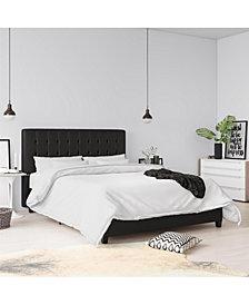 EveryRoom Elvia Queen Upholstered Bed