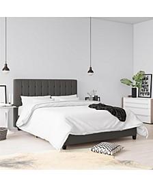 Elvia Queen Upholstered Bed