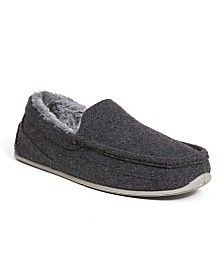 Deer Stags Men's Spun Felt Cozy Slipper