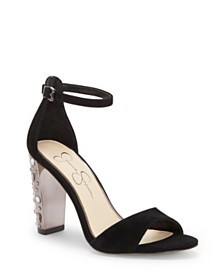 Jessica Simpson Verena Studded Heel Dress Sandals