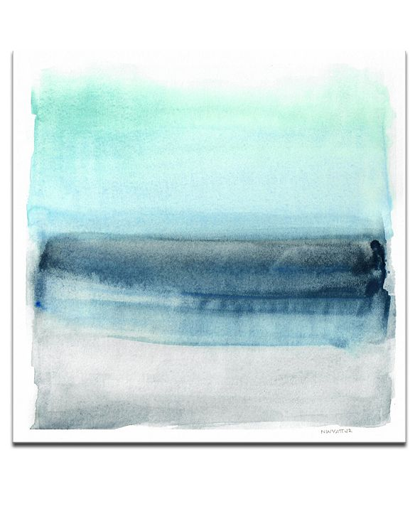 "Ready2HangArt 'Parallel Energy I' Abstract Canvas Wall Art, 20x20"""