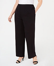 Alfred Dunner Plus Size Grand Boulevard Pull-On Pants