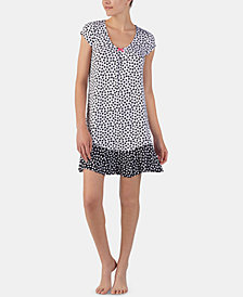 Ellen Tracy Printed Nightgown