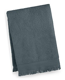"CLOSEOUT! French Connection Dorinda Cotton 30"" x 56"" Fringe Bath Towel, Created for Macy's"