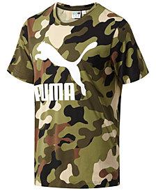 Puma Men's Wild Pack Camouflage Logo T-Shirt