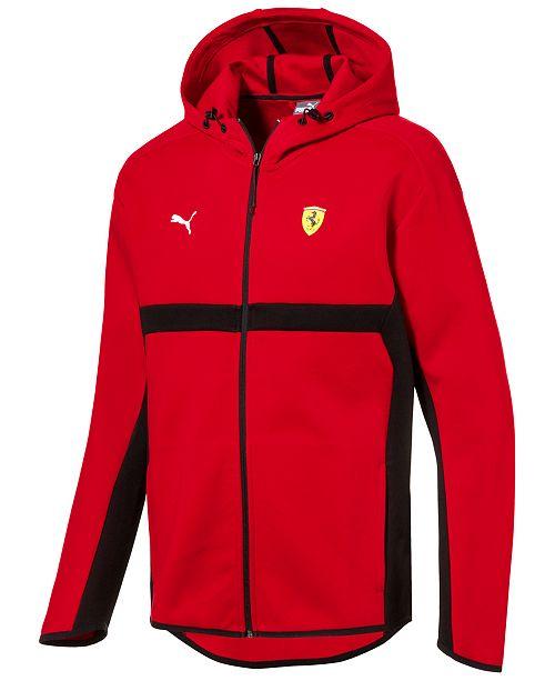 9665193046bf Puma Men s Ferrari Zip Hoodie   Reviews - Hoodies   Sweatshirts ...