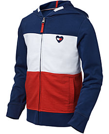 Tommy Hilfiger Big Girls Colorblocked Zip-Up Hoodie