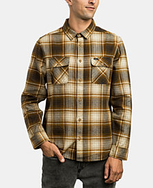 RVCA Mens High Plains Plaid Shirt