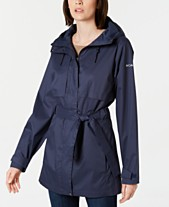 04fae0ce710 Columbia Pardon My Trench Water-Resistant Rain Jacket